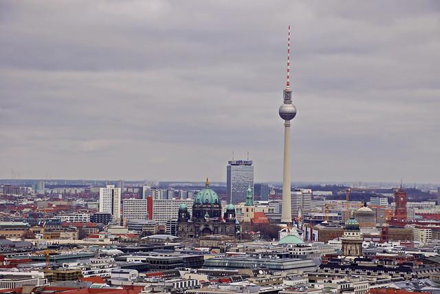 Panorama Punkt - Potsdamer Platz in Berlin