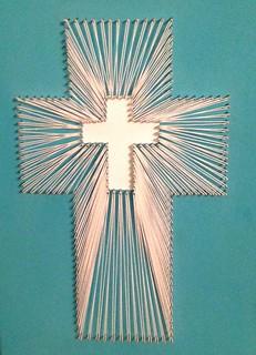 String Art Cross Kyla