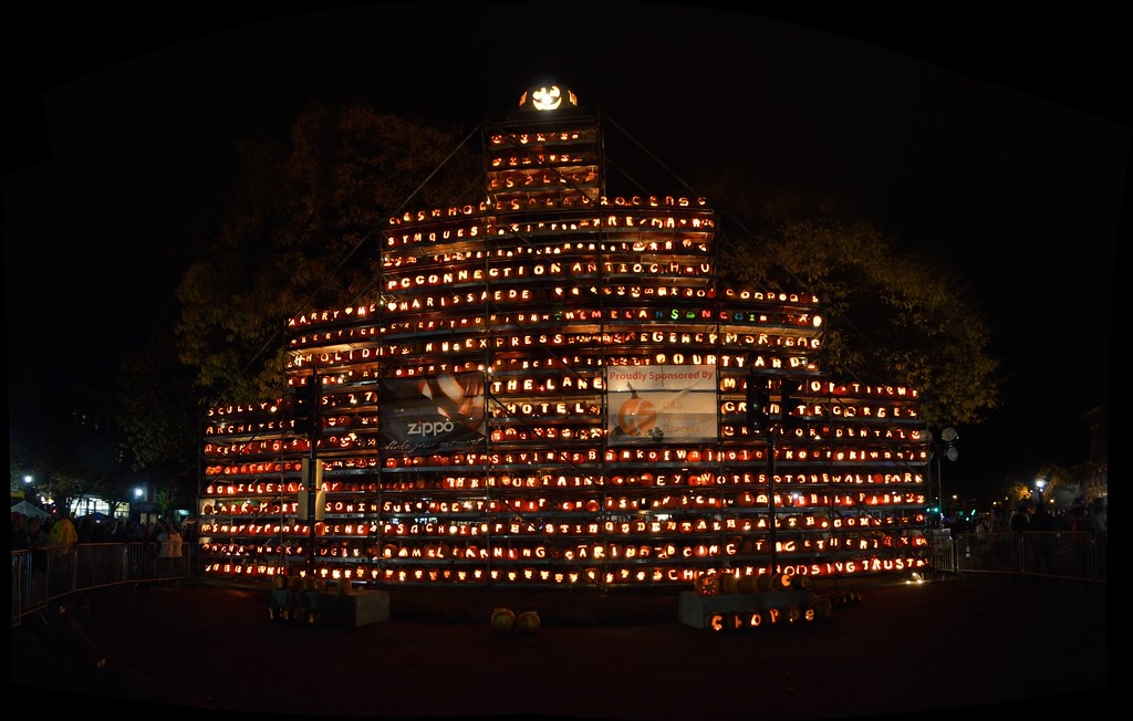 Keene Pumpkin Tower stitch
