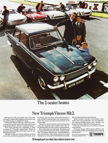 1969 Triumph Vitesse Mk 2 (UK) | by IFHP97
