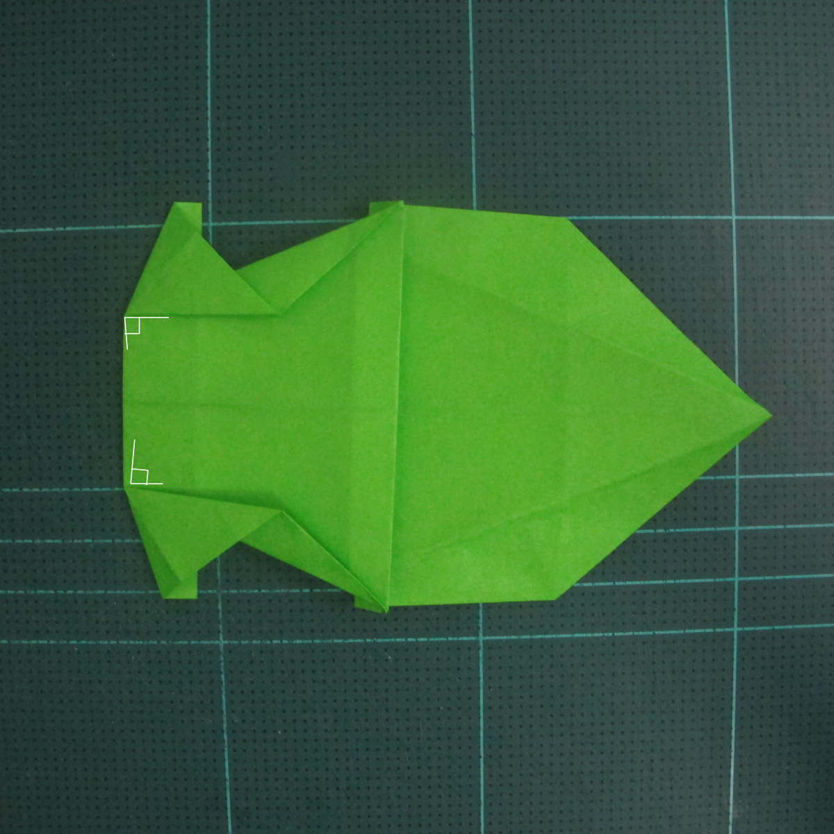 การพับกระดาษเป็นรูปแรด (Origami Rhino) 021