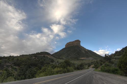road travel vacation nature clouds nationalpark nikon colorado unitedstates cloudy outdoor path tokina mesaverde hdr mesa d300 photomatix mancos 1116mm