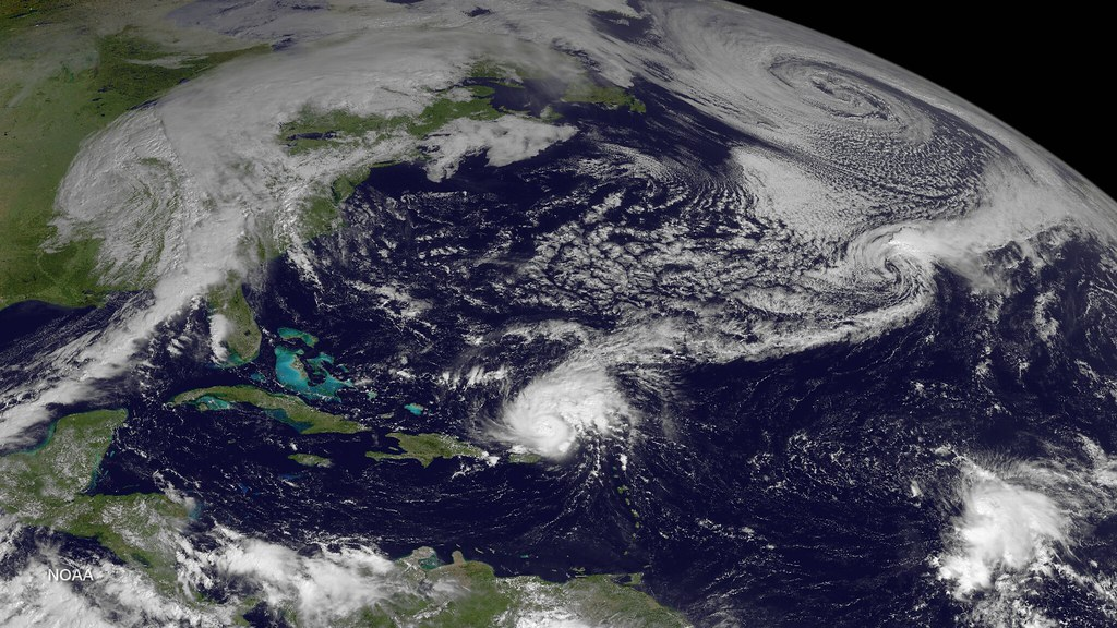 Atlantic Hurricane Gonzalo Leading Active Weather Patterns (2014)