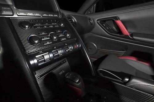 Our carbon fiber vinyl makes for beautiful interor trim accents. | by eliteautosalon719