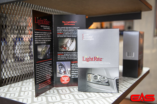 We use LightRite headlight restoration products. | by eliteautosalon719