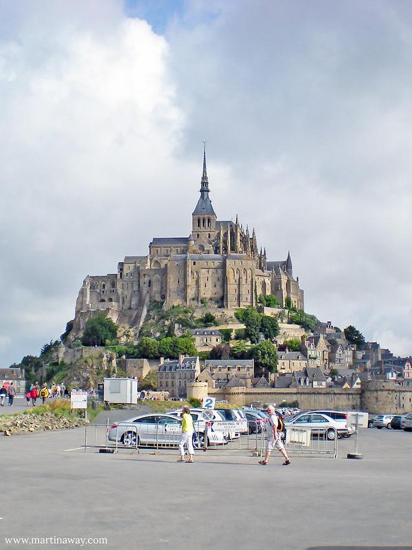 Le Mont-Saint-Michel, Normandia