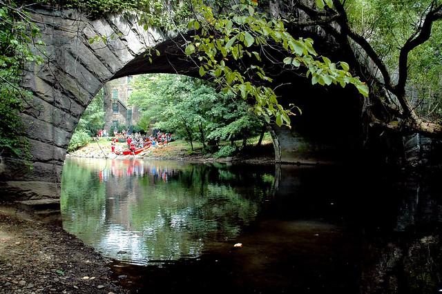 New York Botanical Gardens, Bronx River