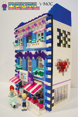 [Denil MOC] FRIENDS Butterfly Beauty Shop - Photo 3 | by deniloh85