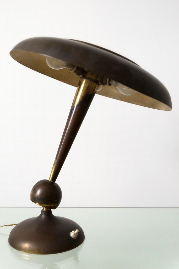 Oscar Torlasco, lampada da tavolo anni \'50 LUMI Milano | Flickr
