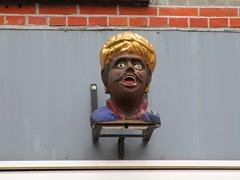 Amsterdam gevelsteen Gaper