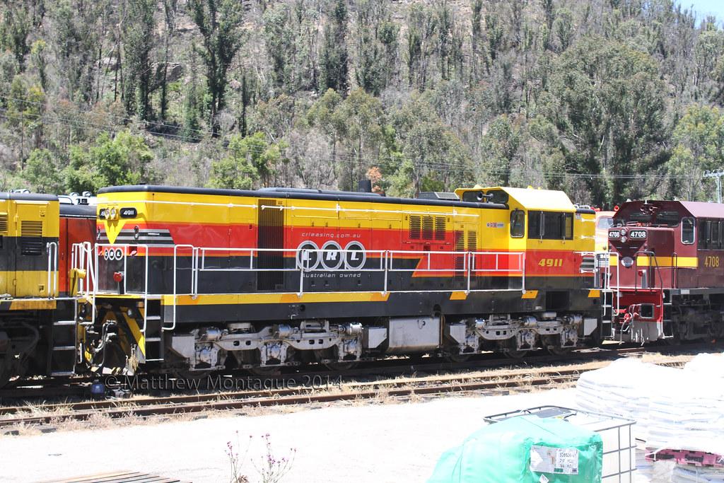 CRL's 4911 @ Lithgow State Mine. 17/11/14. Ref IMG_7D17081 by Matthew Monty