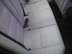 Mercedes clase E banqueta despues