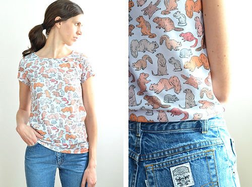 Hers & Hers Rodent Tees | by imaginary animal
