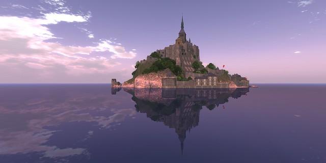 Mont Saint Michel Reflections