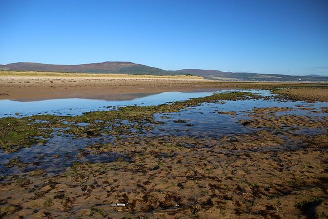 The mouth of Loch Fleet near Golspie
