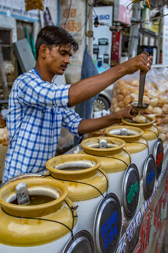 Pani Poori vendor | by Ninja Mom