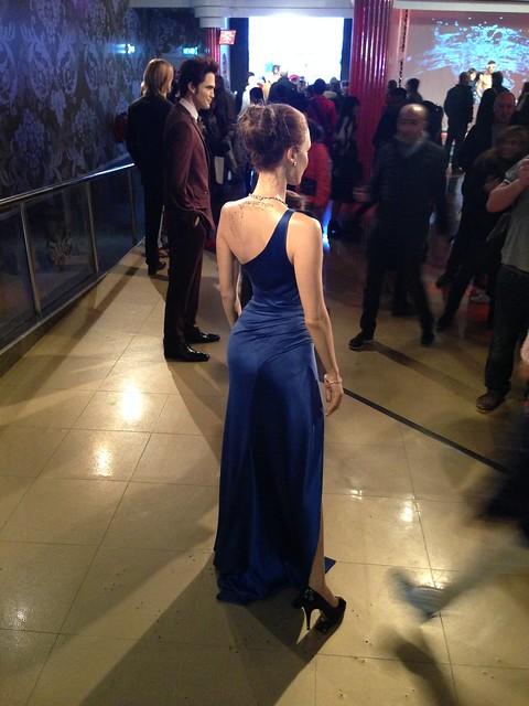 Angelina Jolie figure at Madame Tussauds London