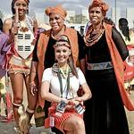 Zulu white girl