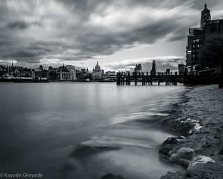 City of London From South Bank Beach | by kayodeok