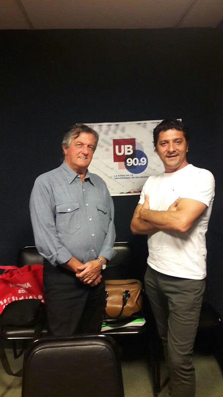 Gerardo Sanguine y Juan José Larrea