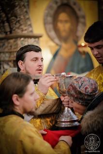 Литургия в Иверском монастыре 220