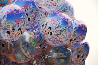 Christmas Balloons at Disneyland Resort, Hong Kong. | by www.traveljunction.com