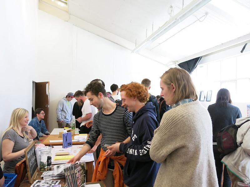 Zinefest at Darkroom, St Asaph Street