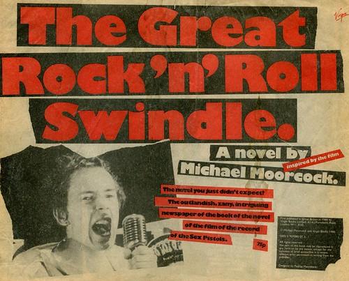Michael Moorcock - The Great Rock 'N' Roll Swindle (1980)   by stillunusual