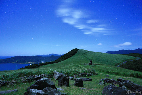 longexposure japan night star midnight nagasaki touge 長崎 星空 hirado 星 星景 平戸 星景写真 kawachipass 川内峠