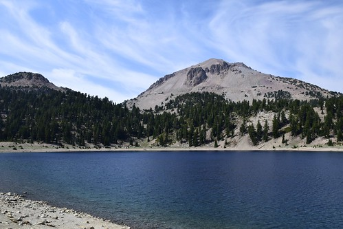 Lake Helen and Mount Lassen ... inside the crater of what was Mount Tehama | by gapeppy1