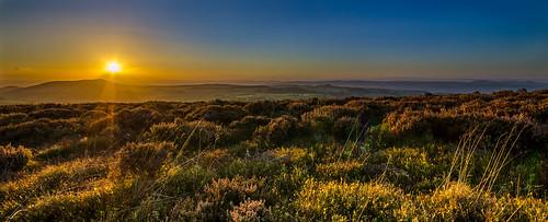 sunset england landscape shropshire unitedkingdom minsterley