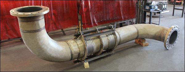 Universal Expansion Joints Refurbished for a Manufacturing Facility in Tennessee