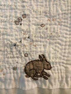 Rabbit Constellation quilt