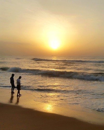 sunrise beautiful beach chennai madras tamilnadu southindia indian waves shoreline