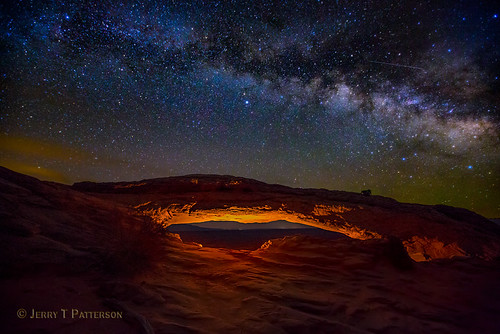 mesaarch arch arches moab utah anp longexposure canyonlands milkyway astrophotography