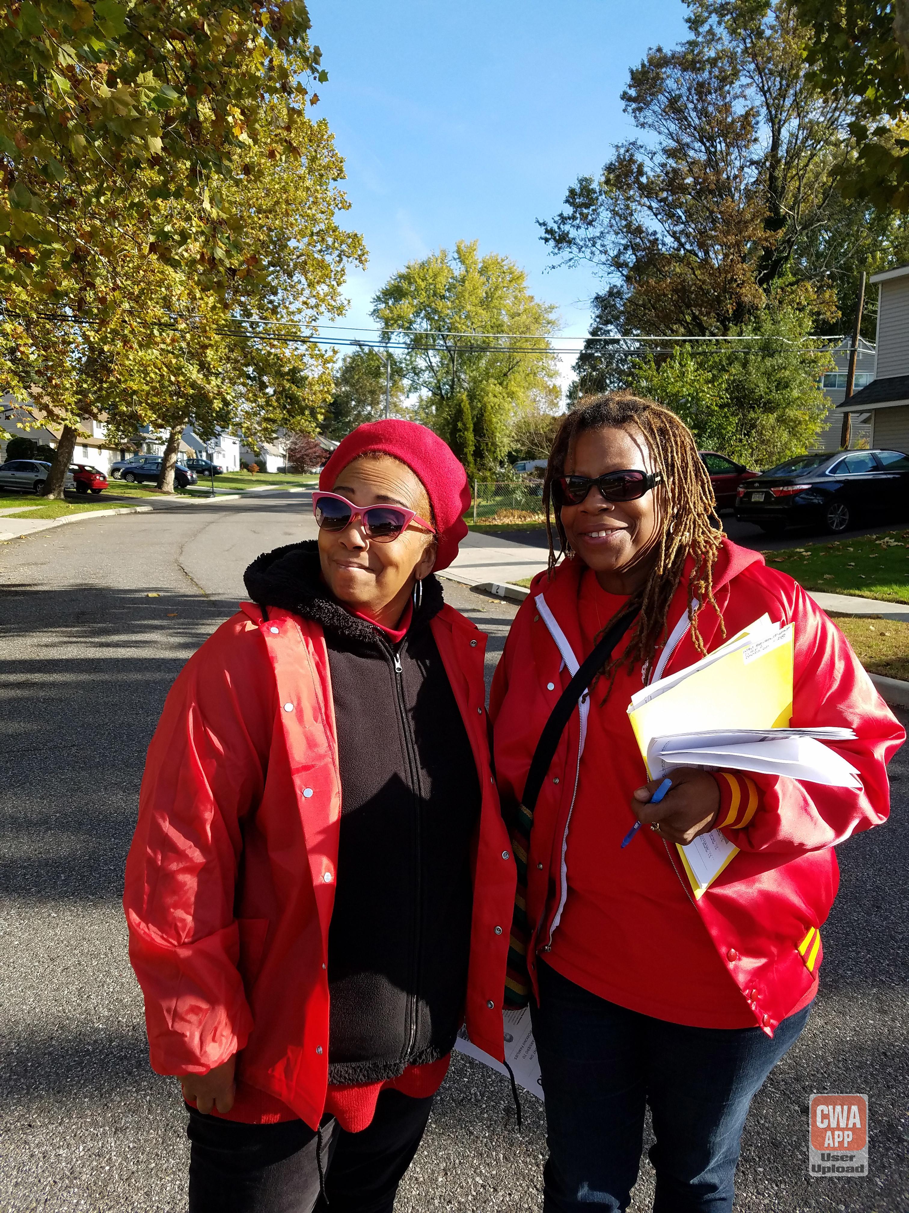 CWA Votes 2016 Labor Walk in New Jersey