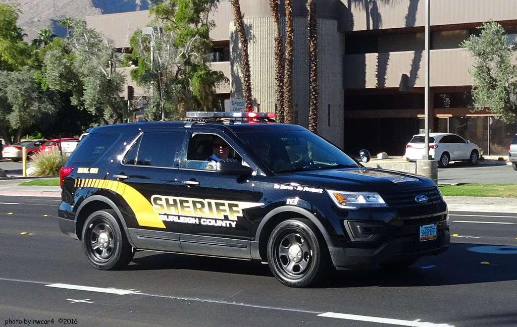 Burleigh County North Dakota Sheriff - Ford Police Interce