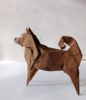 JINDO DOG | by paper folding artist redpaper