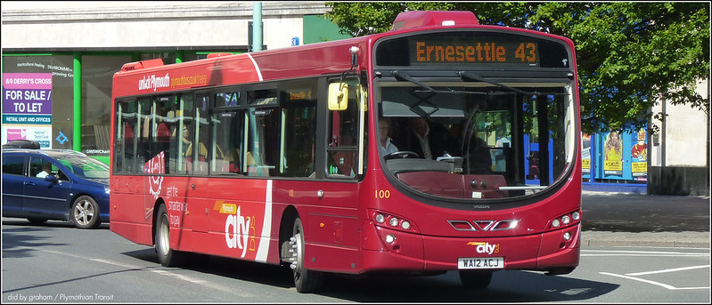 Plymouth Citybus 100 WA12ACJ