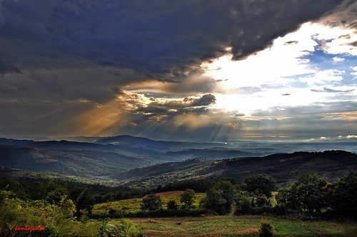 sunset italy panorama storm clouds landscape italia tramonto nuvole tuscany toscana grosseto temporale maremma arcidosso stribugliano nikond5000 jambojambo