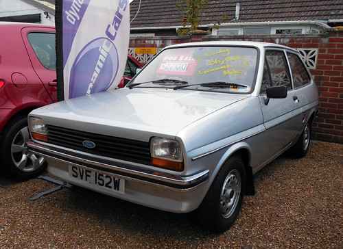 1981 Ford Fiesta 1.1L £2700   by Spottedlaurel