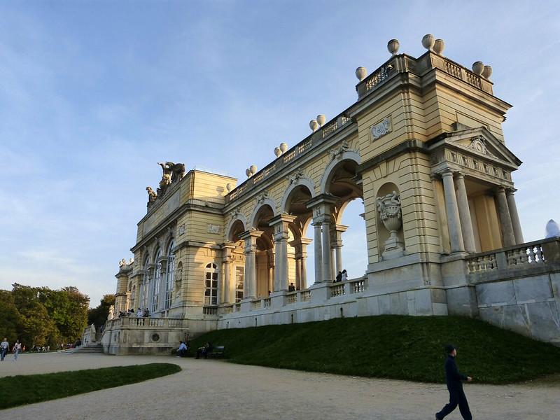 A Walk through Schönbrunn Park