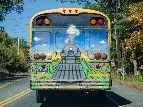 Thomas the Magic School Bus (285/365) | by Tim Pierce