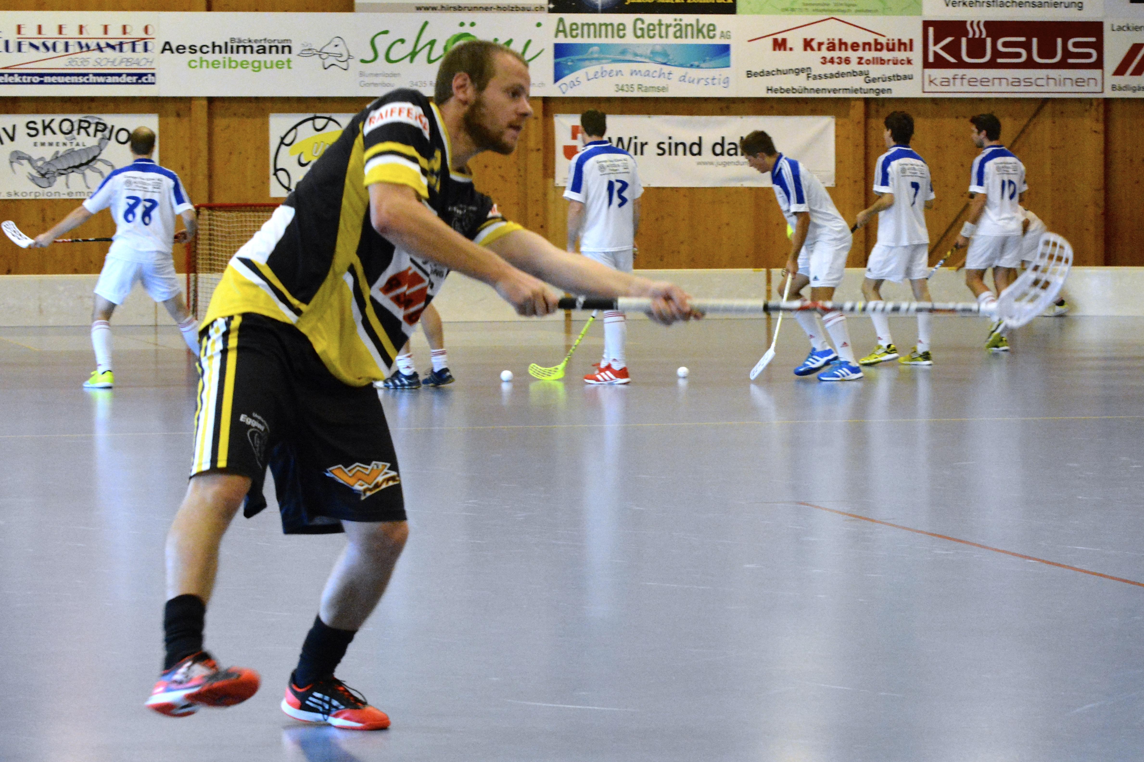 Herren Aktive GF 3.Liga - UHT Tornados Frutigen Saison 2014/15