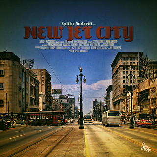 "Album Artwork - Curren$y ""New Jet City"" 