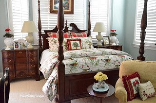 Christmas Master Bedroom-Housepitality Designs | by shirleystankus