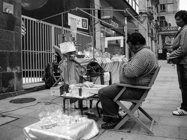 Street photography in Vigo, Spain.