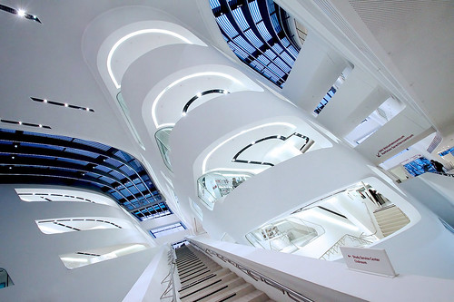 The Library and Learning Center by Zaha Hadid, Vienna University of Economics and Business, Austria | by o palsson