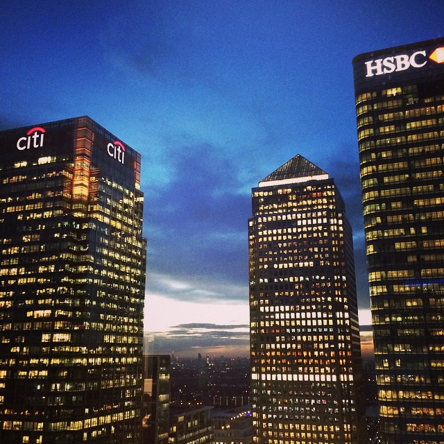 View from #Barclays Headquarters at Churchill Place, #can… | Flickr