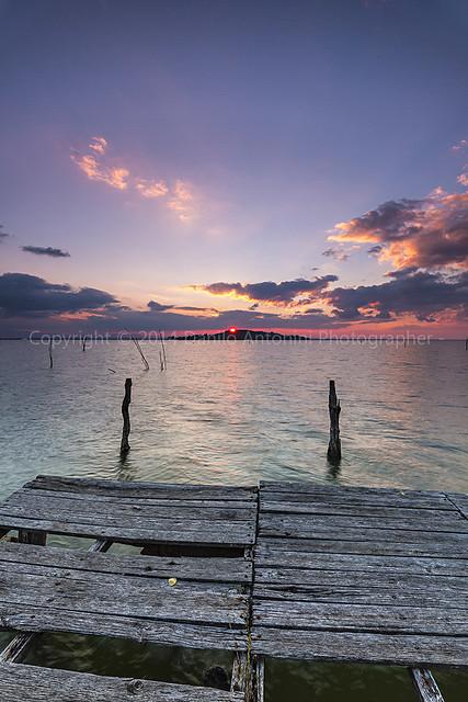 Sunset on the Trasimeno Lake (03889)